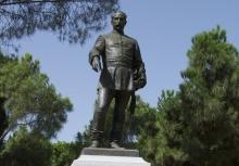 Monumento al general Cassola, Madrid (detalle). Foto Archivo Fundación Mariano Benlliure.