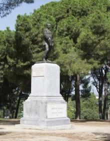 Monumento al general Cassola, Madrid. Foto Archivo Fundación Mariano Benlliure.