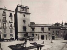 Monumento a Álvaro de Bazán poco después de su inauguración. Foto Archivo Fundación IPCE