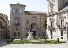 Monumento a Álvaro de Bazán en la actualidad. Foto Archivo Fundación Mariano Benlliure