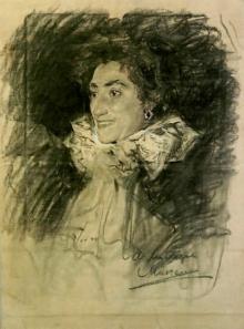 Mariano Benlliure, Retrato de Lucrecia Arana, ca. 1896. Colección Fundación Rodríguez Acosta. Foto Archivo Fundación Mariano Benlliure