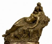 Mariano Benlliure, No la despiertes, 1900. Foto Archivo Fundación Mariano Benlliure