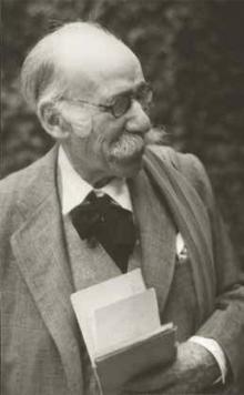 Mariano Benlliure, ca. 1945. Foto Archivo Fundación Mariano Benlliure