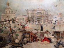 José Benlliure Gil, Venecia Gran Canal. Casa-Museo Benlliure, Valencia