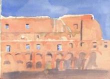 Lucrecia Enseñat Benlliure, El Colosseo. Colección particular. Foto FMB