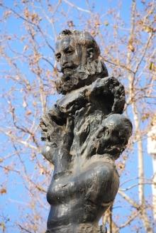 4 Monumento a Cervantes. Foto FMB