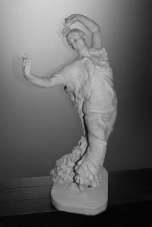 Pastora Imperio, ca.1916, escayola. Museo Nacional del Teatro, Almagro
