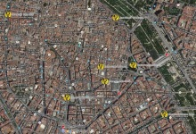 Itinerario ruta Benlliure en Valencia