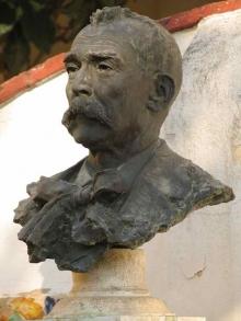 Mariano Benlliure, Retrato de Juan Antonio Benlliure Tomas, 1908. Bronce. Casa-Museo Benlliure, Valencia. Foto Archivo Casa-Museo Benlliure