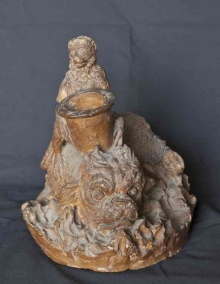 Grupo escultórico de Mariano Benlliure, ca. 1878. Colección particular. Foto Archivo Fundación Mariano Benlliure