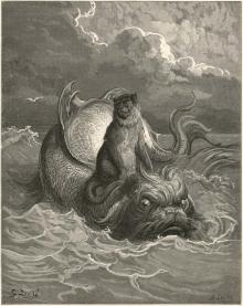 Ilustración de Gustave Doré. Foto https://es.pinterest.com/pin/446137906810476254/