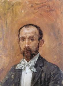 Mariano Benlliure, Retrato de Blas Benlliure. Colección particular. Foto FMB