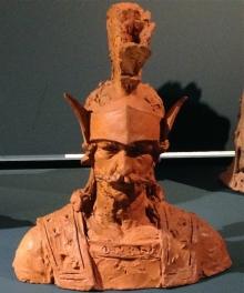 Boceto para el Gigante de Olot. Museu de La Garrotxa, Olot. Foto AFMB