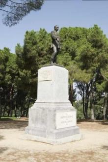 Monumento al general Cassola, Parque del Oeste, Madrid. Foto Archivo Fundación Mariano Benlliure