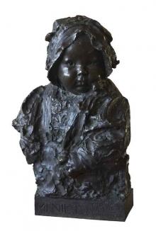 """Mariano Benlliure, """"Mi nieto"""", 1915. Foto Archivo Fundación Mariano Benlliure."""