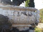 Mariano Benlliure, detalle del Mausoleo de Julián Gayarre antes de los trabajos de limpieza y conservación. Foto Fundación Gayarre
