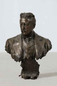 Marqués de Aldama. 1902, bronce. Foto Archivo Fundación Mariano Benlliure