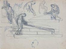 Apuntes para un monumento funerario. Archivo FMB