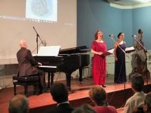Duo Líricas del Mundo con el pianista Elías Romero