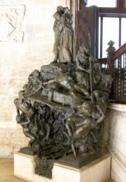 Mariano Benlliure, Infierno de Dante, 1900. Bronce. Foto © Fundación Mariano Benlliure