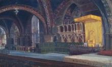 José Benlliure Ortiz (Peppino), Basilica Inferior de Asis. Colección particular. Foto Archivo FMB-