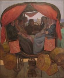 José Benlliure Ortiz (Peppino), Tartana del Cabanyal. Casa-Museo Benlliure, Ayuntamiento de Valencia