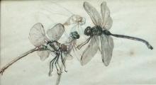José Benlliure Ortiz (Peppino), Composición con 4 libélulas. Casa-Museo Benlliure, Ayuntamiento de Valencia