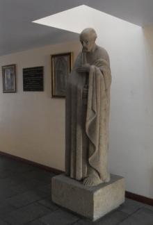 José Luis Benlliure Galán, San Pablo, Seminario Conciliar de Tlalpan en México. Foto Archivo FMB