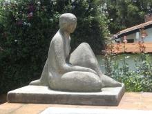 José Luis Benlliure Galán, Figura sentada. Colección particular. Foto FMB