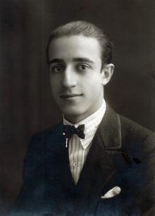José Luis Mariano Benlliure. Foto Archivo FMB