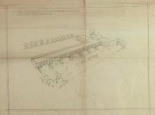 José Luis Mariano Benlliure, Proyecto del Parbulário del Colegio Madrid en México. Archivo FMB