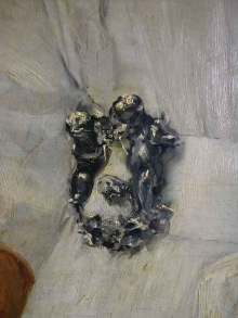 Detalle de la hebilla del cinturon. Foto Archivo Fundación Mariano Benlliure