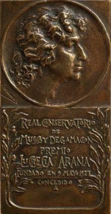 Mariano Benlliure, Premio Lucrecia, 1927. Colección particular. © Archivo Fundación Mariano BenlliureArana