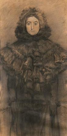 Mariano Benlliure, Lucrecia Arana, 1899. Colección particular © Archivo Fundación Mariano Benlliure. Foto S. Mijangos