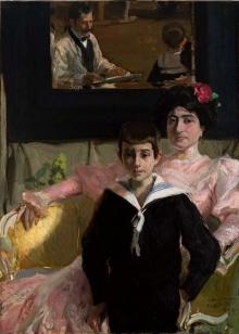 Joaquín Sorolla, Lucrecia Arana con su hijo, 1906. Colección particular. © Archivo Fundación Mariano Benlliure. Foto S. Mijangos