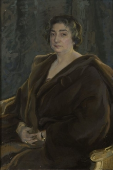 Francisco Pons Arnau, Lucrecia Arana, 1926, Colección particular. © Archivo Fundación Mariano Benlliure. Foto S. Mijangos