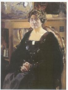Joaquín Sorolla, Lucrecia Arana, 1920. Museo de Bellas Artes de Valencia. © Archivo Fundación Mariano Benlliure