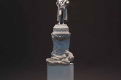 Maqueta del monumento a Goya. Fundación Mariano Benlliure. Foto J.C. Martín Lera, AFMB