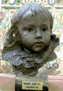 María Benlliure Ortiz, bronce. Casa Museo Benlliure, Valencia. © Fundación Mariano Benlliure