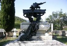 Mausoleo de Julián Gayarre. Foto Archivo Fundación Mariano Benlliure