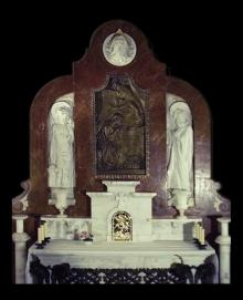 Mausoleo de la Vizcondesa de termens, altar. Foto Archivo Fundación Mariano Benlliure