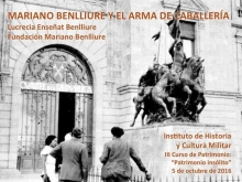 Mariano Benlliure y el Arma de Caballería 1. Foto Archivo Fundación Mariano Benlliure