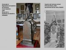 Mariano Benlliure y el Arma de Caballería 6. Foto Archivo Fundación Mariano Benlliure