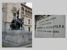 Mariano Benlliure y el Arma de Caballería 7. Foto Archivo Fundación Mariano Benlliure