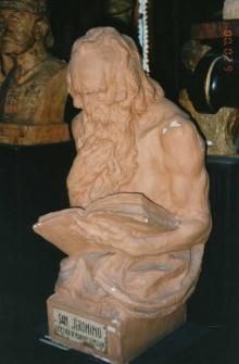 Alegoria de la Ciencia, modelo en escayola. Museo Nacional de Cerámica y Artes Suntuarias González Martí de Valencia. Foto Archivo Fundación Mariano Benlliure