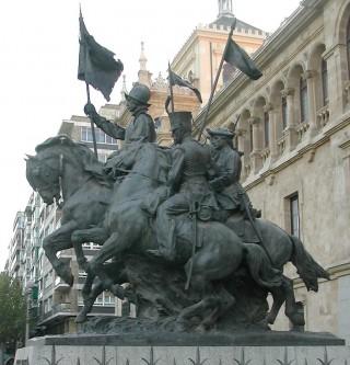 Monumento al Regimiento de Cazadores de Alcántara 1