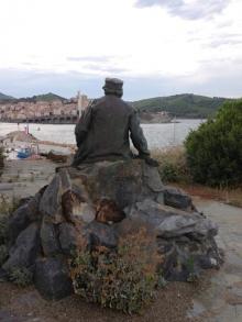 Monumento a Henri Lacaze Duthiers, 1905, Banyuls-sur-Mer (francia). Foto Archivo Fundación Mariano Benlliure