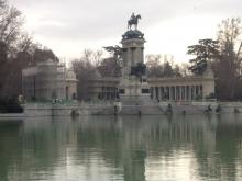 Monumento a Alfonso XII, parque del Retiro de Madrid. Foto Archivo Fundación Mariano Benlliure