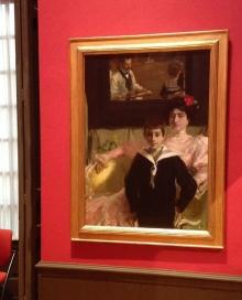 """Sorolla en París: """"Lucrecia Arana y su hijo o la familia Benlliure Arana"""", 1906. Foto Archivo Fundación Mariano Benlliure"""
