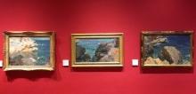 Sorolla en París: Tres versiones de rocas, Jávea, 1905. Foto Archivo Fundación Mariano Benlliure